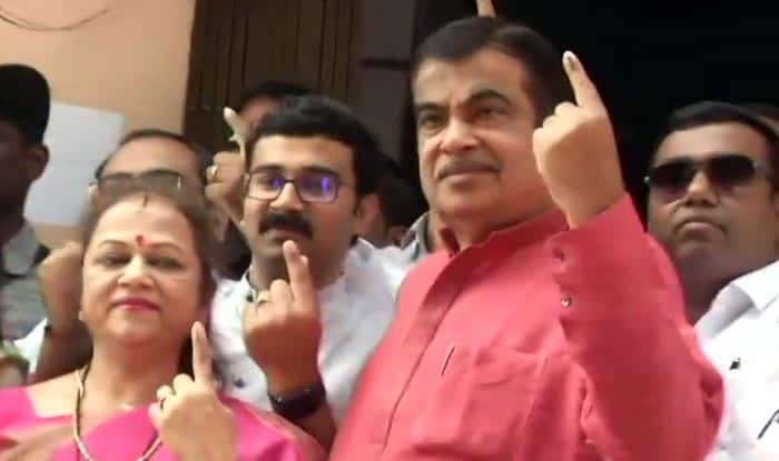 Nitin Gadkari Casts Vote in Nagpur, Says 'Will Win With Better Margin Than Last Election'
