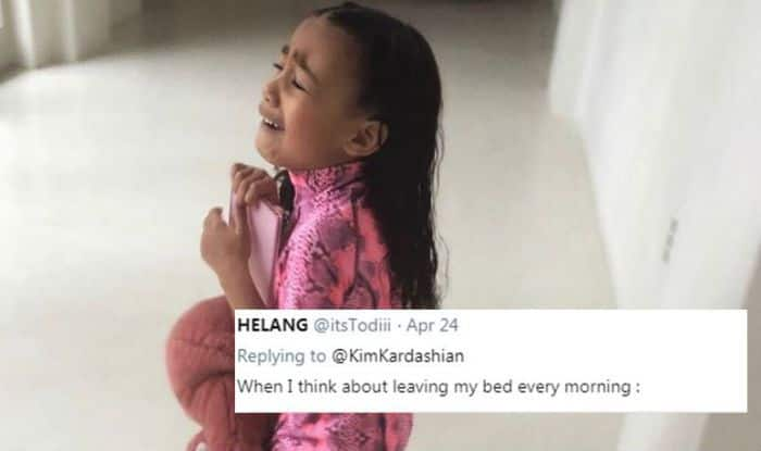 Kim Kardashian's Daughter North West's Cute Tantrum Pic Becomes a Meme, See Here