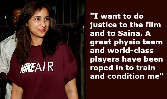 Parineeti Chopra Reveals How She's Preparing For Saina Nehwal Biopic Besides Waking up at 5 am