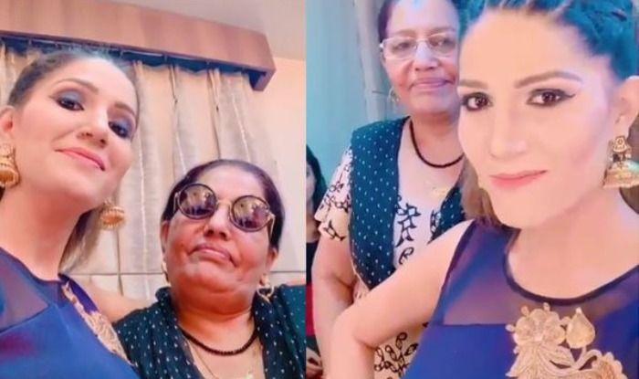 Haryanvi Sizzler Sapna Choudhary Dances With Her Mother on 'Baby Marva Ke Maanegi', Watch