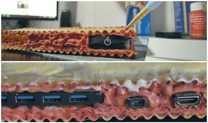 YouTuber Builds Lasagna-Themed PC Out of Uncooked Pasta And it Actually Works!
