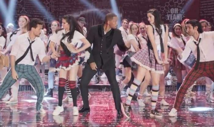 Will Smith with SOTY2 cast
