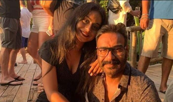 Ajay Devgn with his daughter Nysa Devgn