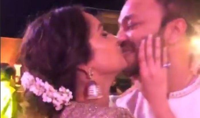 Ankita Lokhande with boyfriend Vicky Jain