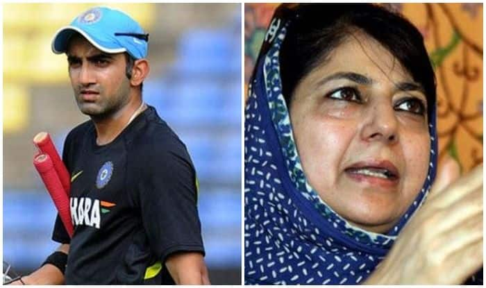 Happy to be Blocked by 'Callous Individual', Says Gautam Gambhir After Spat With Mehbooba