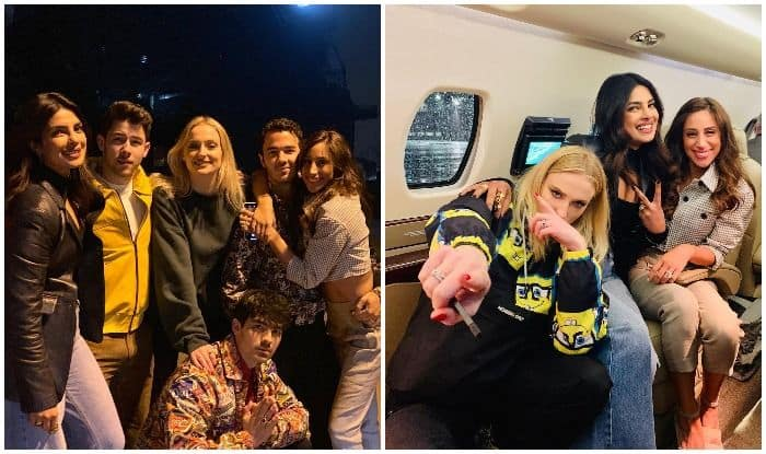 Priyanka Chopra And 'The Jonai' Are In-Laws And Weekend Goals as They Hit Off Friday Night in Pennsylvania