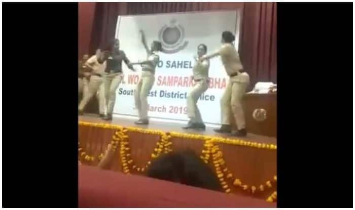 Delhi Women IPS Officers Groove to Sapna Choudhary's Song, Video Goes Viral
