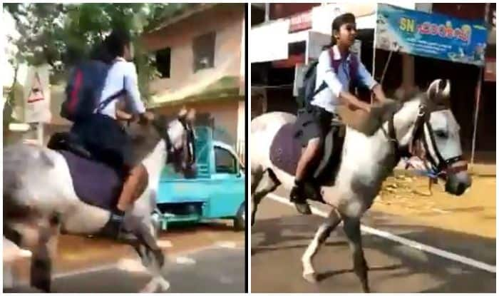 Anand Mahindra's 'Hero' is THIS Girl From Kerala, Gallops to School For Class 10 Final Exam in Viral Video