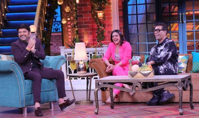 Karan Johar, Kapil Sharma, Kajol