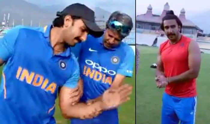Ranveer Singh's Latest Video From '83 Sets Shows It's Not Easy to Become Cricketers on-Screen
