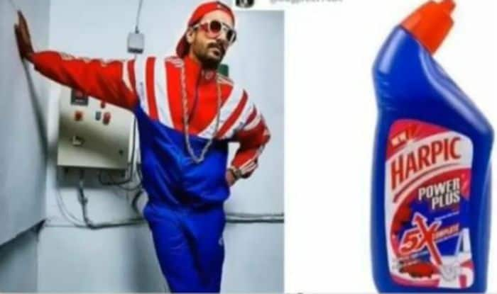 Ranveer Singh Posts Hilarious Meme That Compares His Style to The Design of Toilet Cleaner