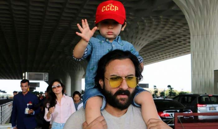 Saif Ali Khan Once Again Asks Paparazzi to Back-Off And 'Not Stalk Taimur Ali Khan', Read on