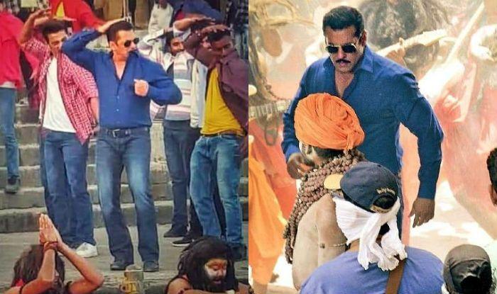 Behind-The-Scenes Footage of Salman Khan From Dabangg 3 Shoot