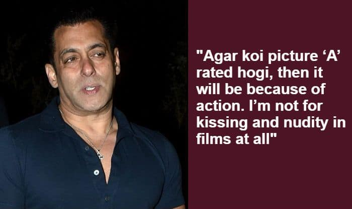 Salman Khan Talks About Having 'no Kiss Scene And Nudity' in His Films Like Many 'Web-Series'