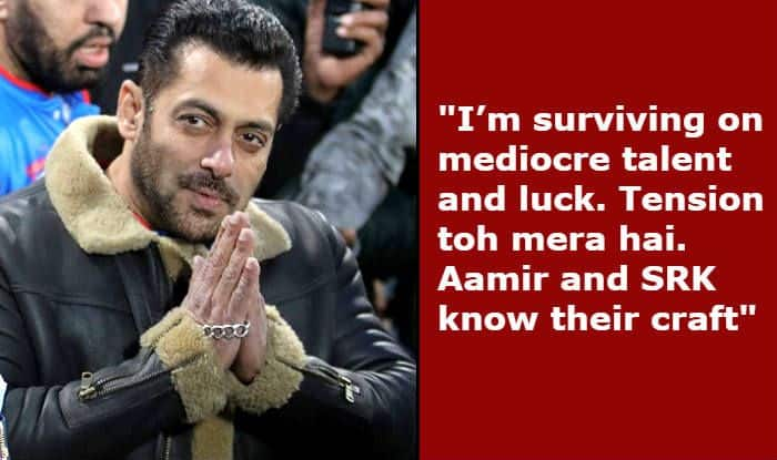 Salman Khan Speaks on Being 'Bigger' Than Shah Rukh Khan And Aamir Khan at Box Office
