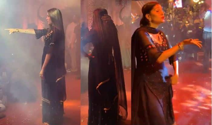 Sapna Choudhary Flaunts Sexy Thumkas on Her Popular Tracks During Stage Show in Haldwani – Watch