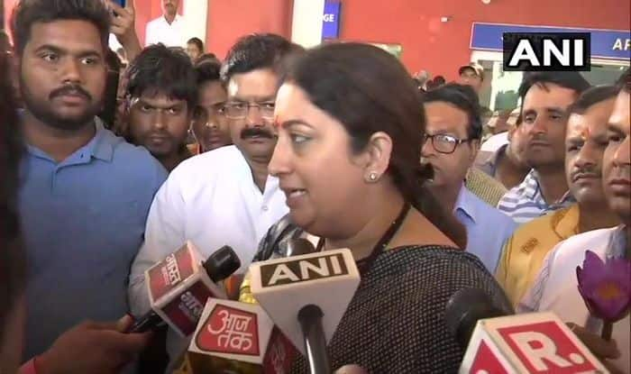 Rahul Gandhi's Contest From Wayanad is an Insult to Amethi: Smriti Irani