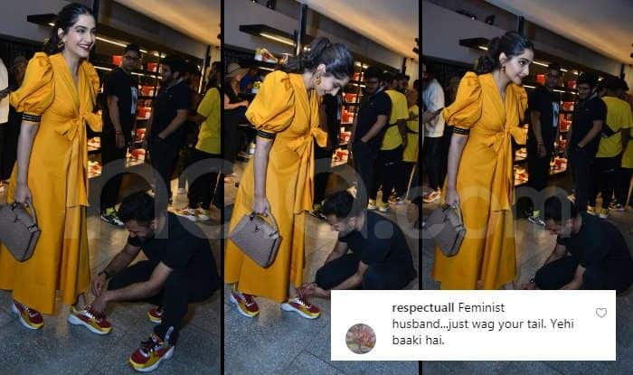 Sonam Kapoor-Anand Ahuja Trolled by Those Who Think a 'Husband Should Not Kneel Down' in Front of His Wife