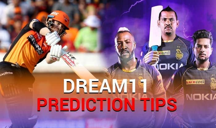 SRH vs KKR Dream11 Team - Check My Dream11 Team, Best players list of today's match, Hyderabad vs Kolkata Dream11 Team Player List, SRH Dream11 Team Player List, Dream11 Guru Tips, Online Cricket Tips IPL 2019.