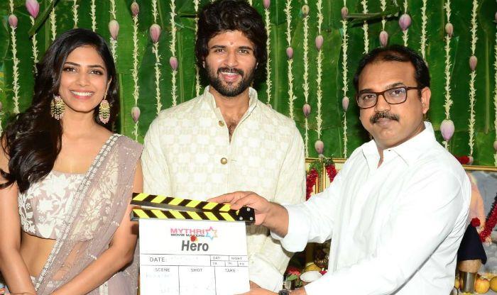 Vijay Deverakonda And Malavika Mohanan's Telugu Film 'Hero' Goes on Floors