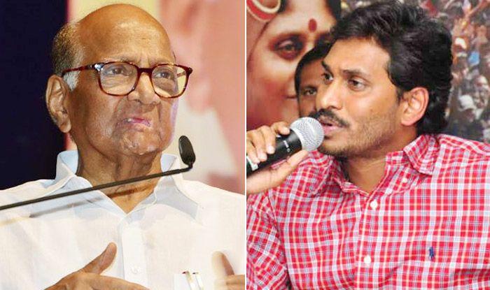 Sharad Pawar Speaks to YS Jaganmohan Reddy