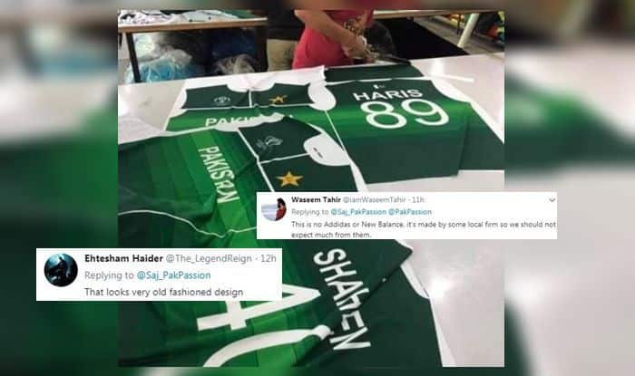Pakistan's jersey for the World Cup