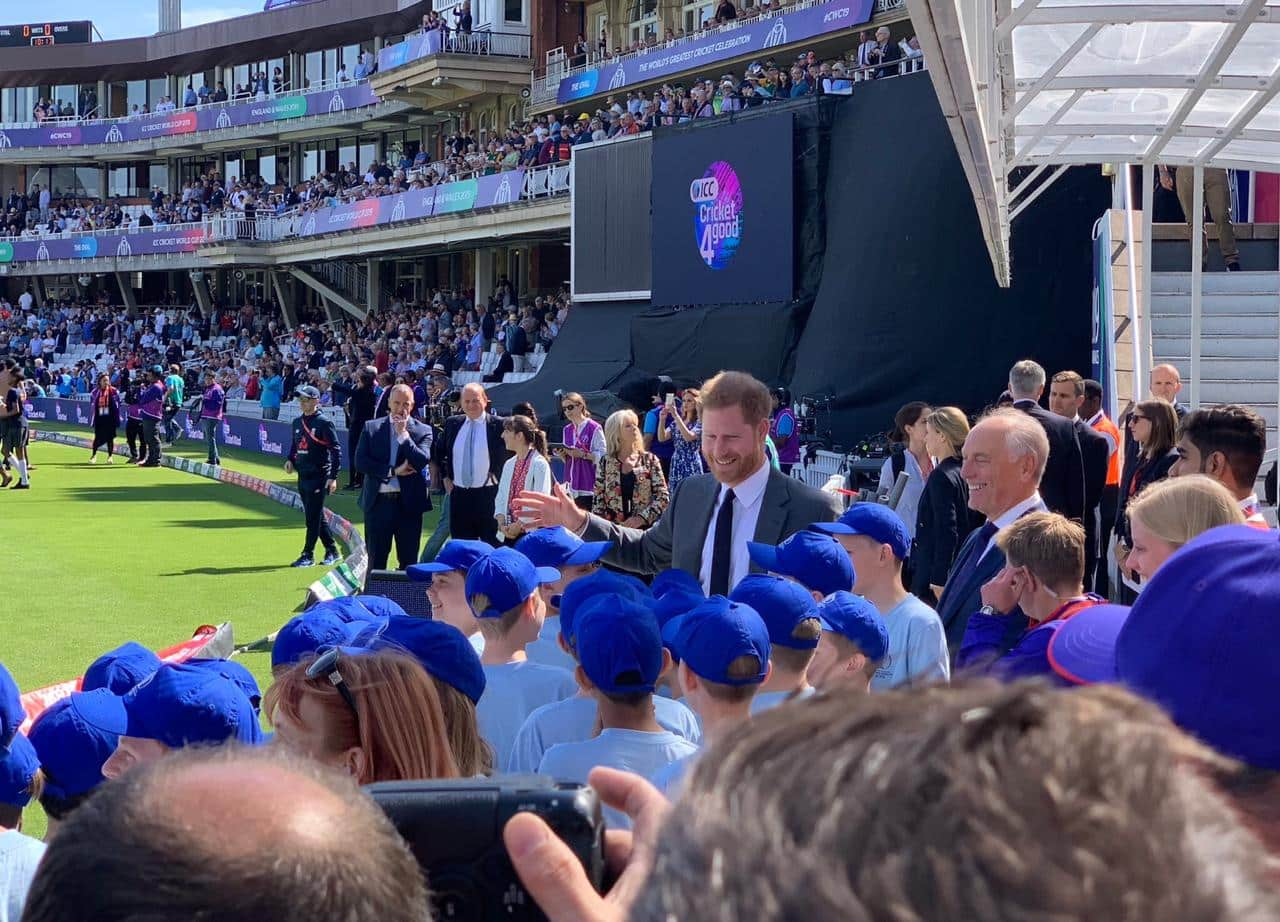 ICC Cricket World Cup 2019: Prince Harry, Duke of Sussex, Opens Tournament At The Oval