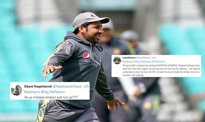 Sarfraz Ahmed England vs Pakistan 5th ODI
