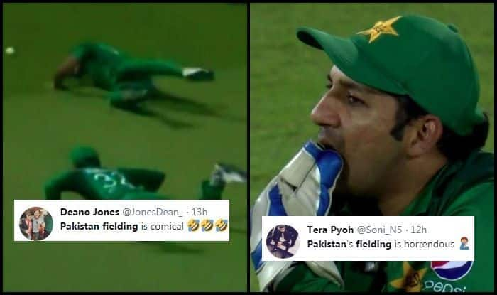 Eng vs Pak: Sarfraz Ahmed's Pakistan TROLLED For Poor Fielding During 4th ODI Between England And Pakistan | WATCH VIDEO AND POSTS