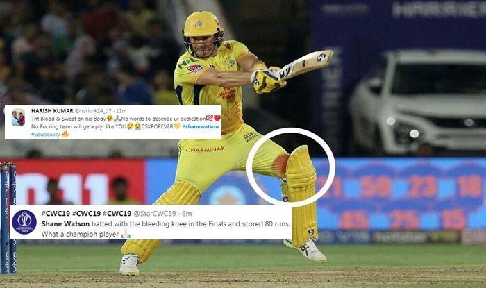 Shane Watson IPL 2019 CSK v MI