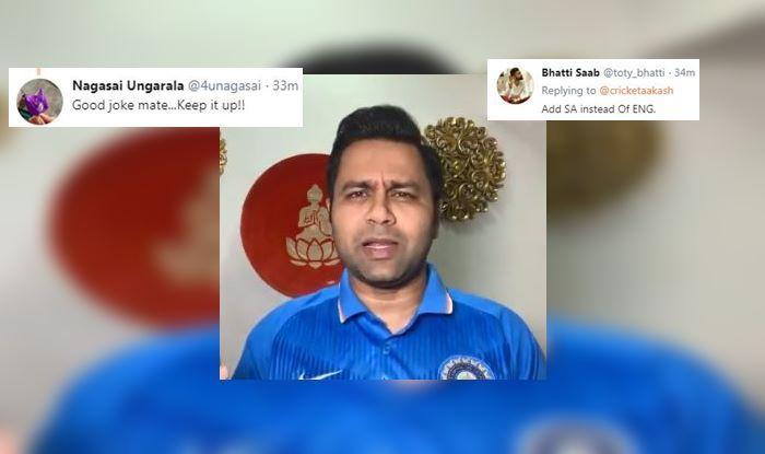 ICC Cricket World Cup 2019,ICC World Cup 2019, Australian Cricket Team, Indian Cricket Team, Latest Cricket News, Eng vs SA, Aakash Chopra
