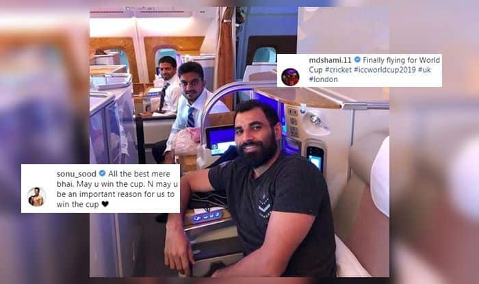 Mohammad Shami ICC World Cup Vijay Shankar Sonu Sood