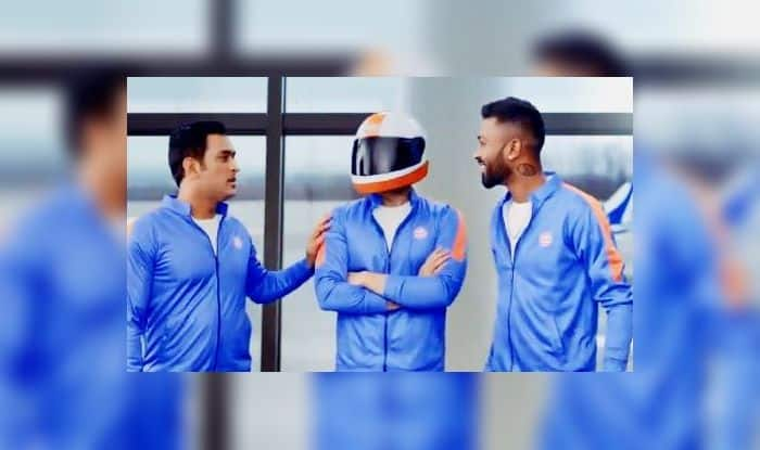 MS Dhoni Hardik Pandya World Cup 2019 Indian Cricket Team