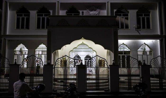 A mosque in Sri Lanka