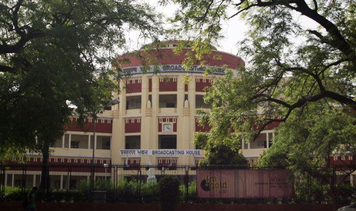 All India Radio building. Photo Courtesy: IANS