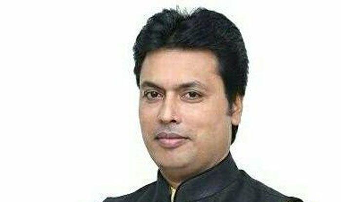 Tripura Chief Minister Biplab Kumar Deb. Photo Courtesy: IANS
