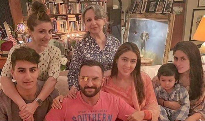 Soha Ali Khan shares family photo