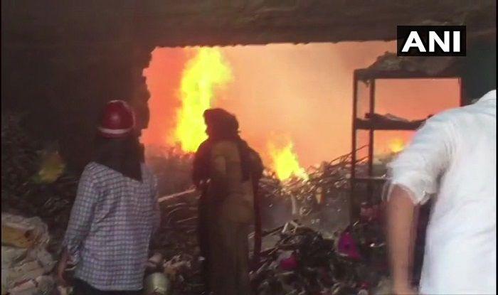 Chandigarh fire