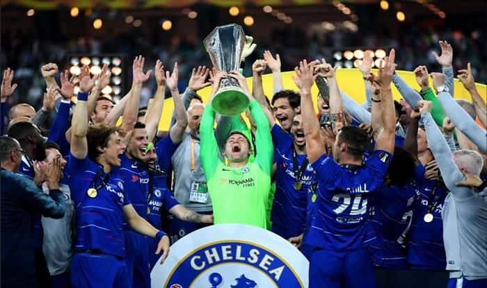 Chelsea football team wins Europa League_Picture credits- Chelsea Twitter