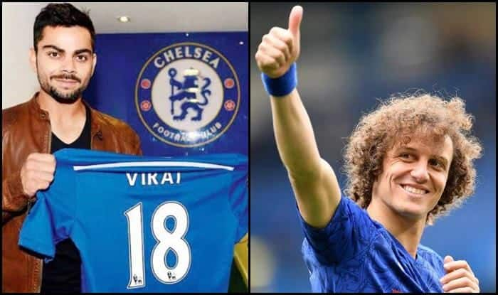 David Luiz extends best wishes to Virat Kohli ahead of ICC World Cup 2019_Picture -Twitter