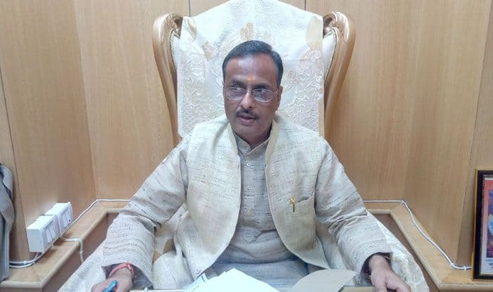 BJP leader Dinesh Sharma. Photo Courtesy: IANS