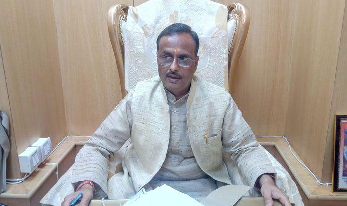 UP Deputy Chief Minister Dinesh Sharma. Photo Courtesy: IANS