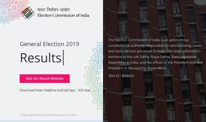 Election Commission mobile app. Photo Courtesy: IANS