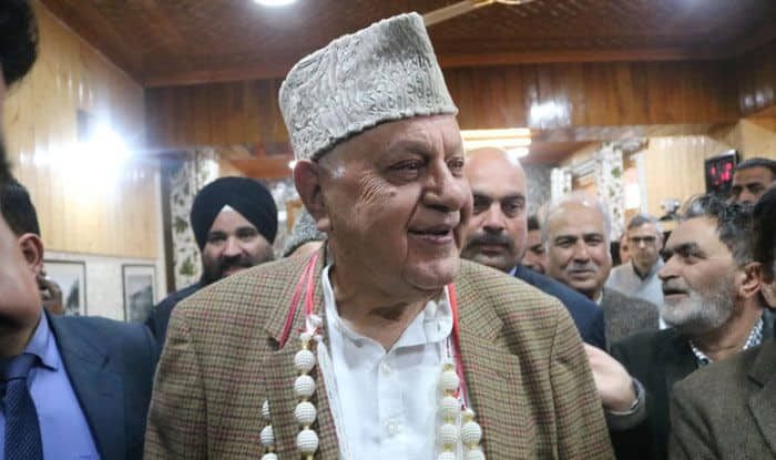 National Conference president Farooq Abdullah. Photo Courtesy: IANS