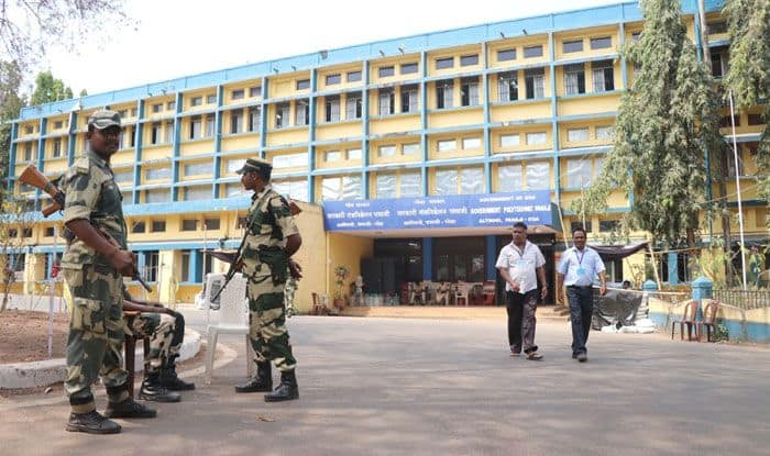 Counting centre in Panaji. Photo Courtesy: IANS