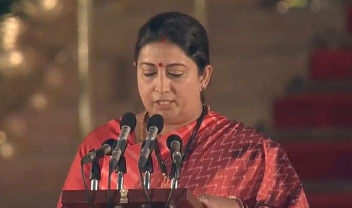 BJP leader Smriti Irani. Photo Courtesy: IANS