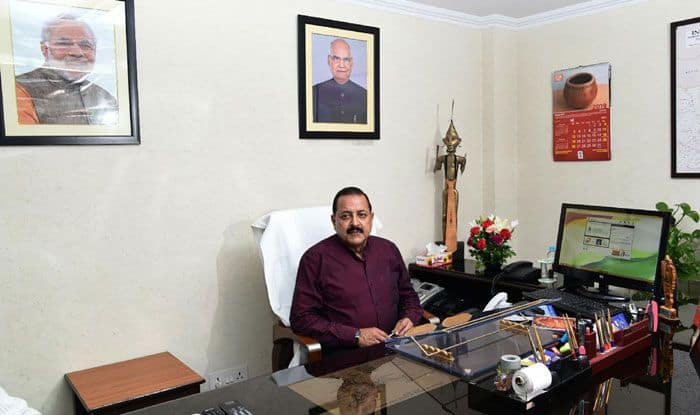 Minister of State for Personnel Jitendra Singh. Photo Courtesy: IANS