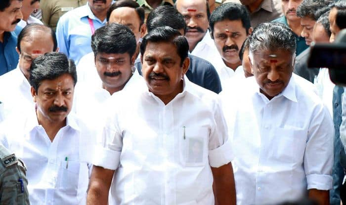 Tamil Nadu Chief Minister K Palaniswami. Photo Courtesy: IANS