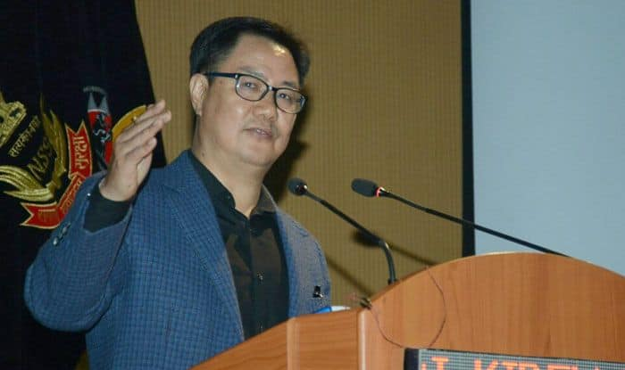 Union Sports Minister Kiren Rijiju Hopes India's Shooting Talent to Get Reflected in 2020 Tokyo Olympics, Indian shooting team, Union sports minister Kiren Rijiju, Tokyo Olympics 2020, Shooting world cup