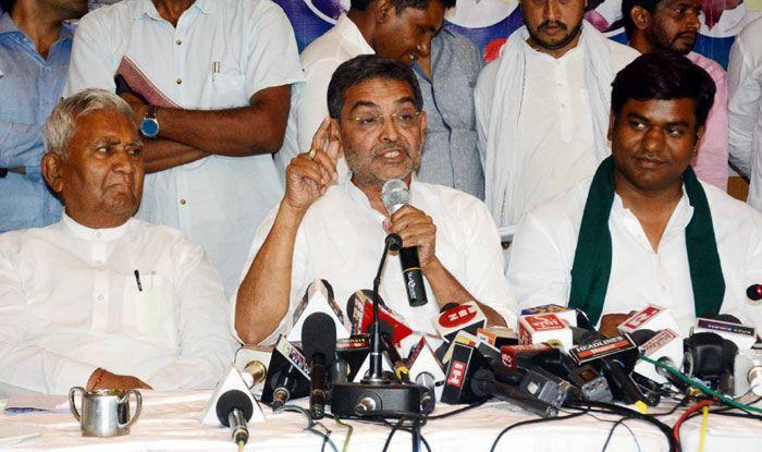 RLSP chief Upendra Kushwaha. Photo Courtesy: IANS